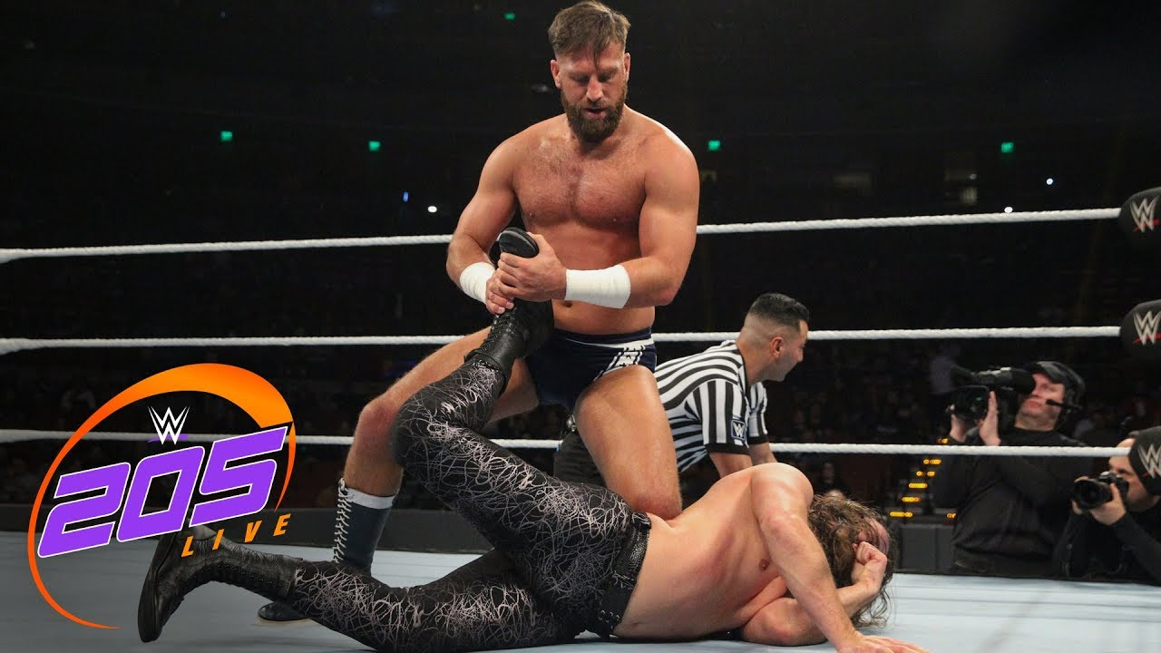 The Brian Kendrick vs. Drew Gulak: WWE 205 Live, Dec. 5, 2018