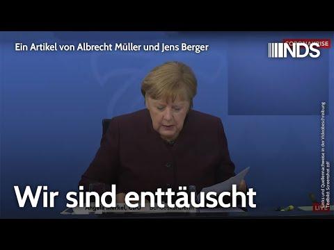 Wir sind enttäuscht | Albrecht Müller und Jens Berger