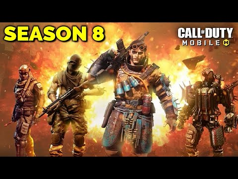 New Season 8 Battle Pass Leaks In Cod Mobile Upcoming Lucky