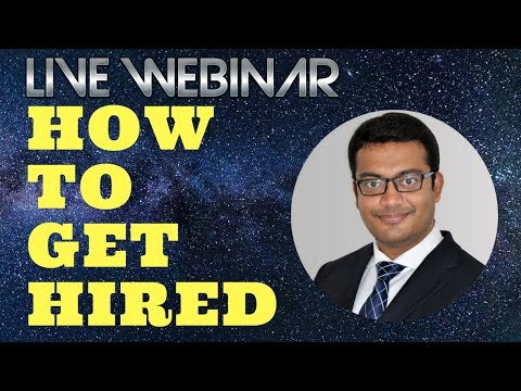 Live Webinar for Jobseekers | Job Search | Challenges| Tips