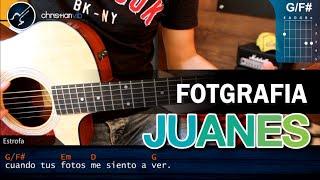 Como tocar Fotografia de JUANES en Guitarra Acustica (HD) Tutorial