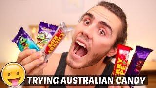TRYING AUSTRALIAN CANDY