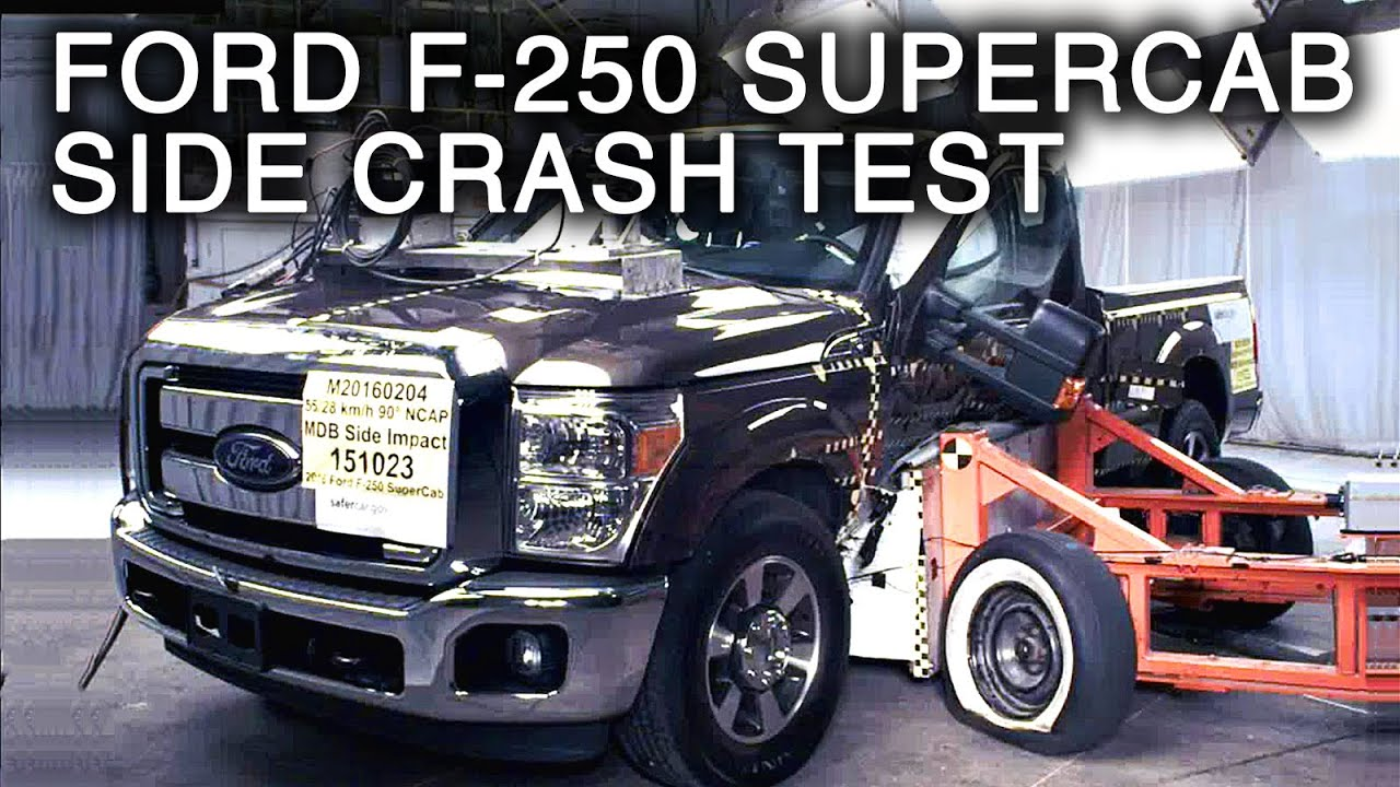 2016 Ford F 250 Super Duty Supercab Crash Test Side Youtube 2004