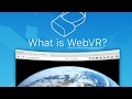 What is WebVR?