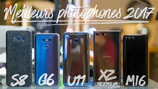 GALAXY S8 VS HTC U11 VS LG G6 VS XPERIA XZ PREMIUM VS XIAOMI MI6 FIGHT DU JOUR