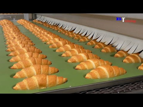 Amazing Bread Processing Factory You Have To See - Skills Fast Workers in Food Processing Line