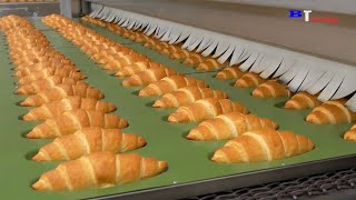Amazing Bread Processing Factory You Have To See  Skills Fast Workers in Food Processing Line