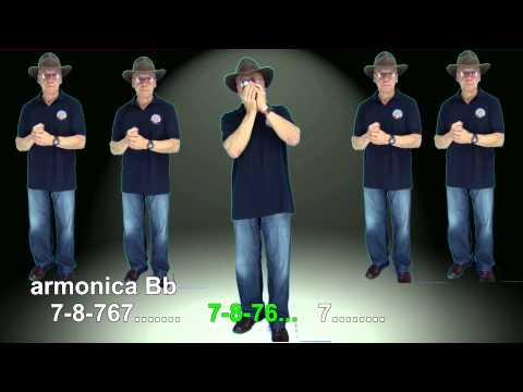 n201 i will follow him ( tablatura armonica diatonica bb,b,c ) mundharmonika