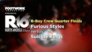 R16 USA 2013 - Furious Styles vs Suicide Kings (Quarter Finals)