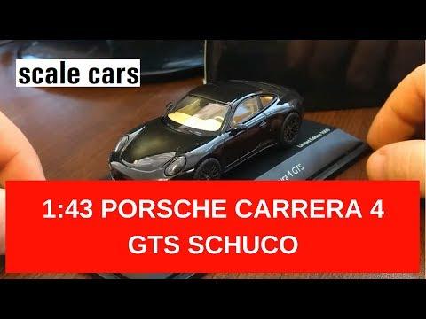 1:43 Porsche Carrera 4 GTS (991) Schuco