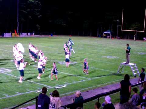 Tinora High School Marching Band Show
