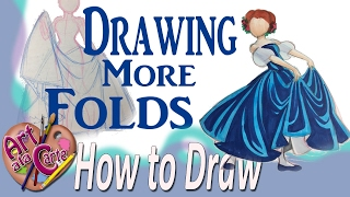 How to Draw More folds in Gowns  Advanced