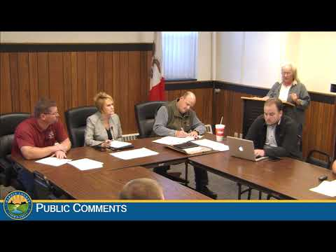 Hardin County Board of Supervisors Meeting 10-17-2018