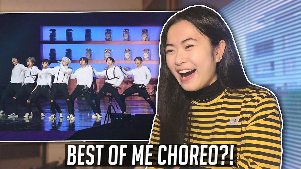 Bts Best Of Me Live Reaction Th Muster