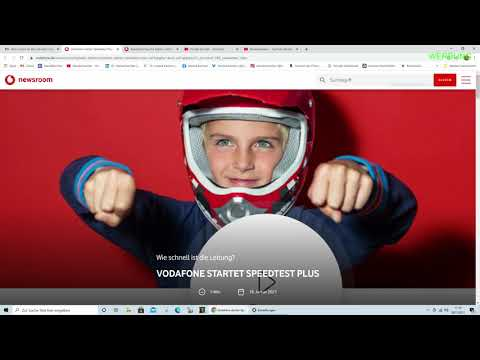 Vodafone Speedtest Plus - erkennt WLAN Schwächen