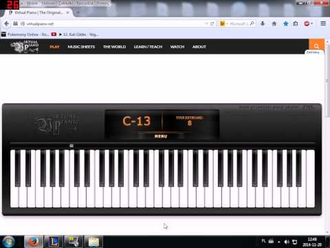 Silent Hill - Promise Virtual Piano