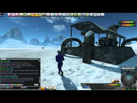 LIVESTREAM: Entropia Universe Mining And Hunting Times
