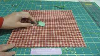 Aprende a hacer el bies en casa con solo un cuadrado de tela.... www.sewingbox.es.