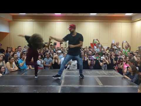 WZF2018: Aline & Charles Urban Zouk Demo ~ video by Zouk Soul