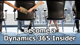 Gambar cover Dynamics 365 2MT Episode 106: BECOME A DYNAMICS 365 INSIDER
