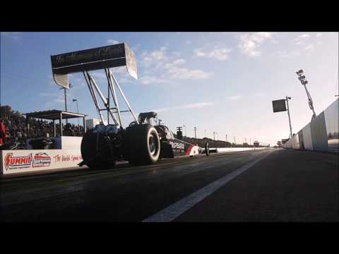 Sights and Sounds of Drag Racing - Adelaide International Raceway