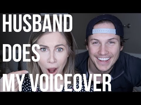 HUSBAND DOES MY VOICE OVER *HILARIOUS*!  GET READY WITH ME  Shawn Johnson