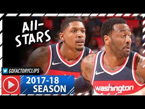 John Wall & Bradley Beal Full Highlights vs Pistons (2018.01.19) - 42 Pts Combined, CLUTCH!