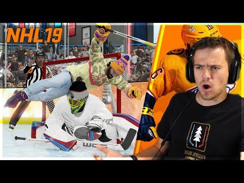 NHL 19 FUNNY MOMENTS & INSANE GOALS!