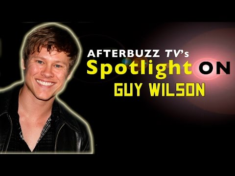 Guy Wilson   AfterBuzz TV's Spotlight On