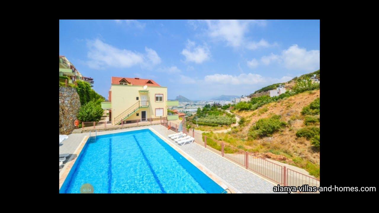 Türkei - Gazipaşa nur 59.000€ 3 Zimmer Wohnung 2 Bäder big Pool