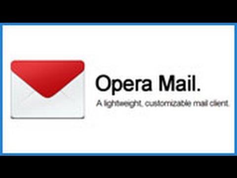 Opera Mail levelező beállítás - TotalStudio
