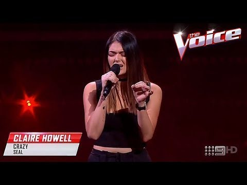 Blind Audition: Claire Howell - Crazy - The Voice Australia 2017