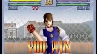 D-Xhird (Sega Saturn) - All Special moves, Desperation moves & extras