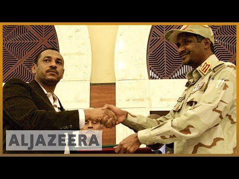 Analysis: Sudan military and opposition sign power-sharing deal