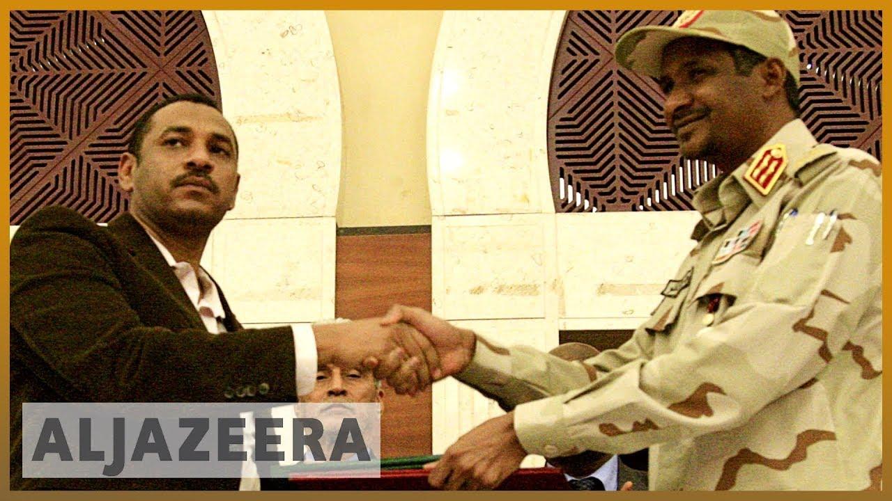 AlJazeera English:Analysis: Sudan military and opposition sign power-sharing deal