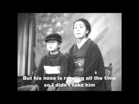 Yasujiro Ozu: Record of a Tenement Gentleman - Photo Shoot Scene