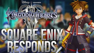 Square Enix Responds to The Kingdom Hearts 3 Trailer Situation!