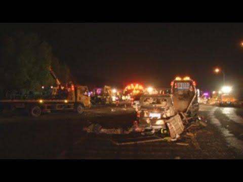 Un camión pierde el control en una autopista china y causa 15 muertos