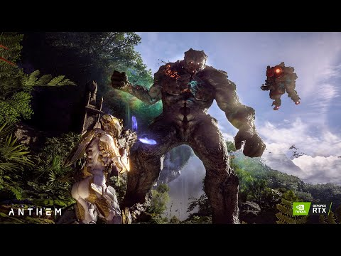 ANTHEM game | ULTRA Setting | Gameplay on GTX 1070 Ray Tracing