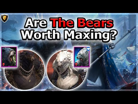 RAID Shadow Legends | Are THE BEARS Worth Maxing?