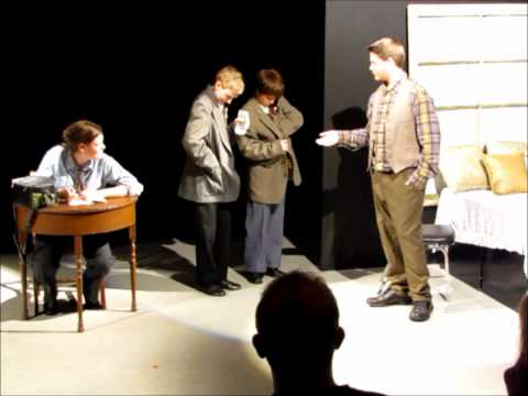 "Place des Arts NEXT STAGE Pre-Professional Theatre Class performs ""The Government Inspector"""