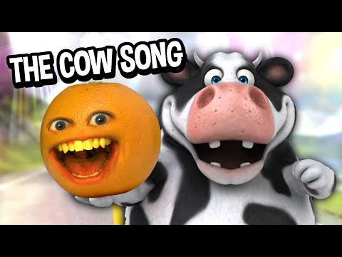 Annoying Orange - The Cow Song!