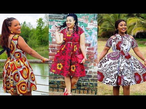 Latest Kitenge Dresses 2020 Most Trending Super Elegant Trendiest Collection Of Kitenge Dresses Youtube
