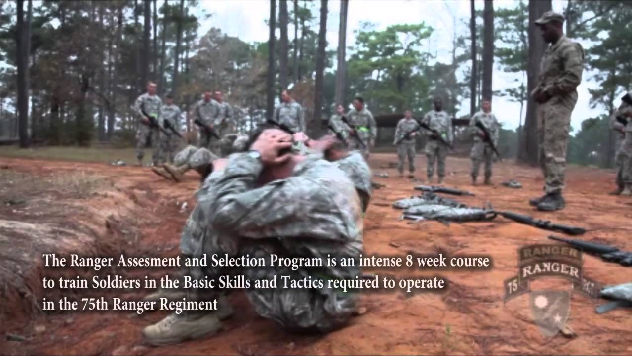 75th ranger regiment rasp 1 youtube