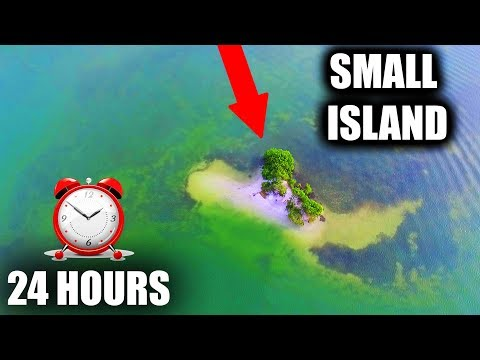 24 HOURS STRANDED ON A SMALL ISLAND!!! (Overnight Challenge) | JOOGSQUAD PPJT