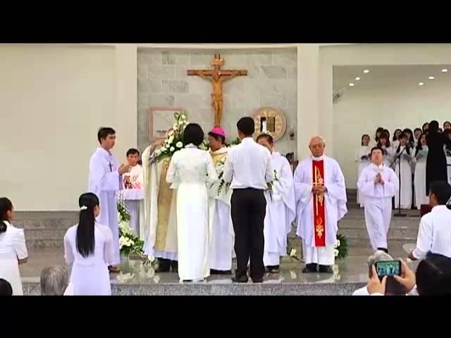 Lễ Cung Hiến Thánh Đường Giáo xứ Thiên Thần