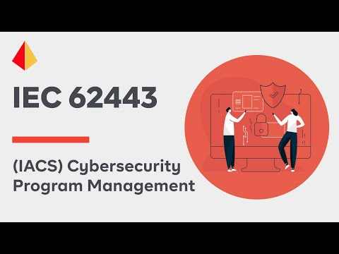 Industrial Automated Control System (IACS) Cybersecurity Program Management (IEC 62443)