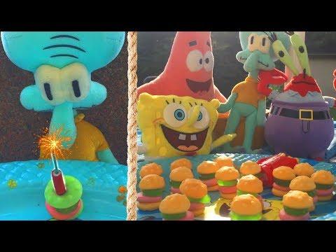 Spongebob Squarepants Gummy Krabby Patties Commercial thumbnail