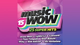 MUSIC WOW 15 - minimix на WOW TV