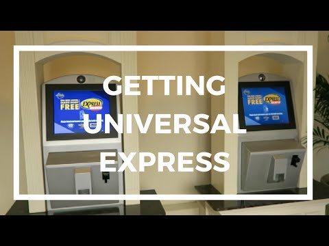 GETTING UNIVERSAL EXPRESS AT UNIVERSAL ORLANDO HOTELS